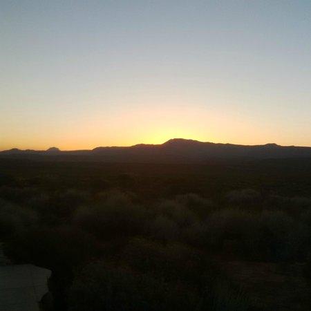 Kagga Kamma Nature Reserve: Sunrise over the Cederberg