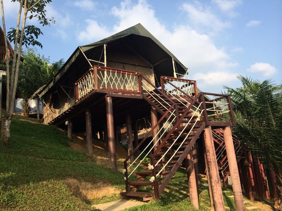 "Khaosok Discovery Boutique Camps: the ""tent"""