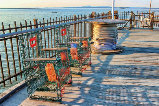 Holiday Inn Bar Harbor Regency : The dock at the hotel