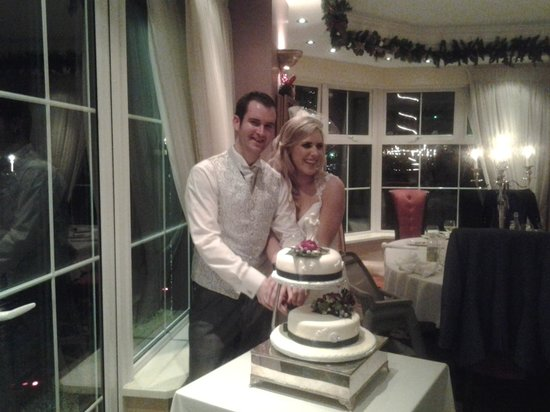 The Red Door Country House: The happy couple!