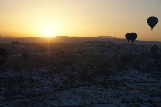 Discovery Balloons: lever de soleil