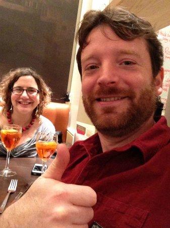 Carluccio's Aberdeen: Enjoying an Aperol Spritz in Carluccio's. Fantastic Meal.