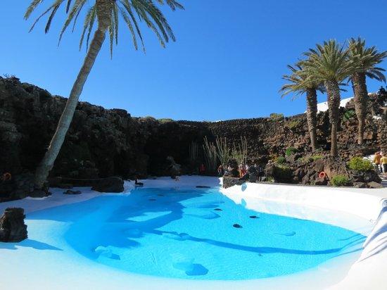 Jameos Del Agua: piscine