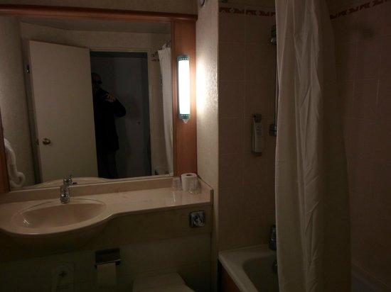 Ibis Toulon La Valette : Il bagno in camera
