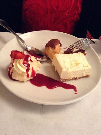 The Cleve Hotel & Spa: Yummy dessert
