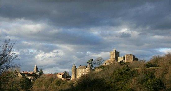 Château de Brancion: Site médiéval de Brancion, janvier 2014