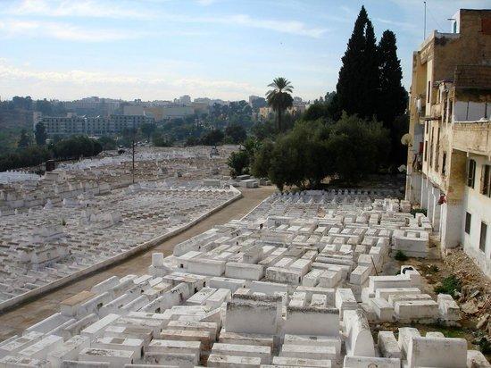 Fez Mellah : Il cimitero ebraico della Mellah di Fes (Quartiere ebraico)