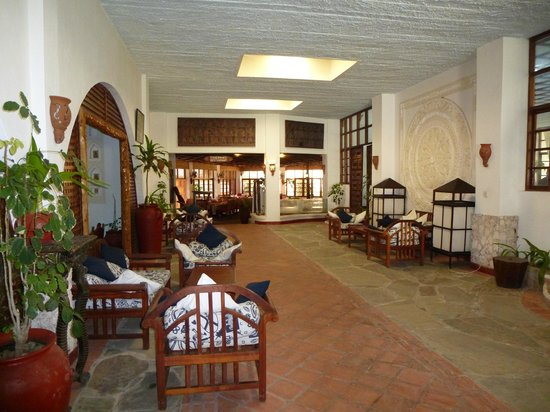 Kilifi Bay Beach Resort: hall