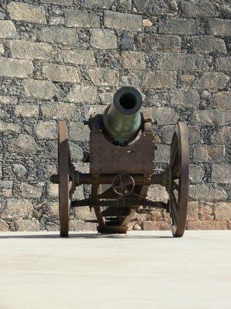 Castillo de San Gabriel: canon