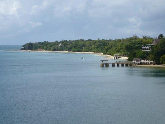 Kilifi Bay Beach Resort: vue du village