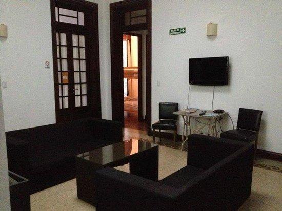 Hostel Uno: area recreativa