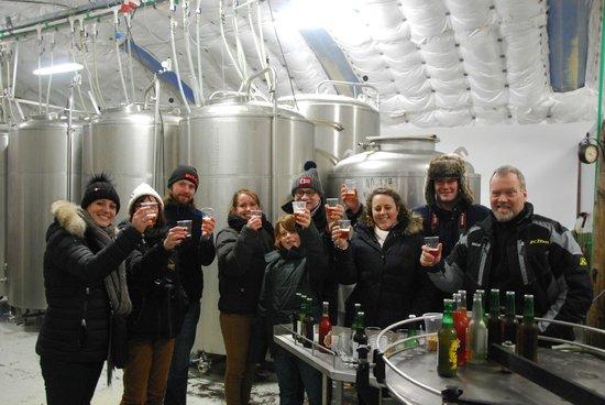 Mountain Taxi: Visite à une bière de brasserie