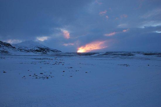 Mountain Taxi: Paysages sur le glacier