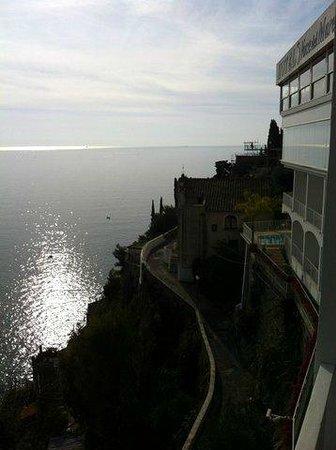 Hotel Voce del Mare: Vista da sacada do apartamento