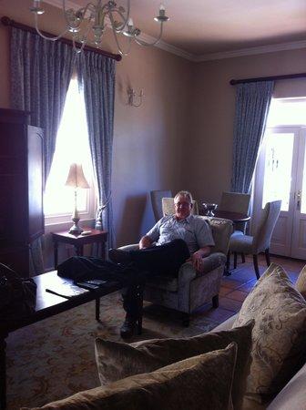 L'Ermitage Franschhoek Chateau & Villas: Lounge