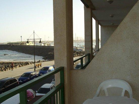 Hotel  Dunas Club: vista molo dal terrazzino