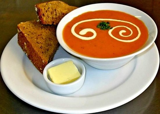 The Olive Tree Cafe: Tomato and Basil Soup