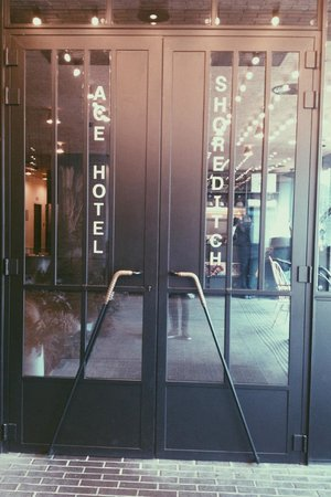 Ace Hotel London Shoreditch: Entrée