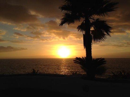 Iberostar Las Dalias: sunset- amazing!