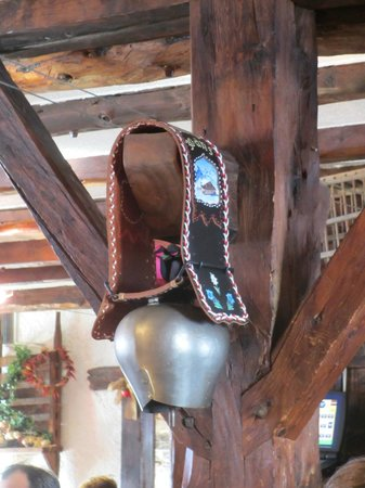 Restaurant LE TOUPIN : Swiss cowbell
