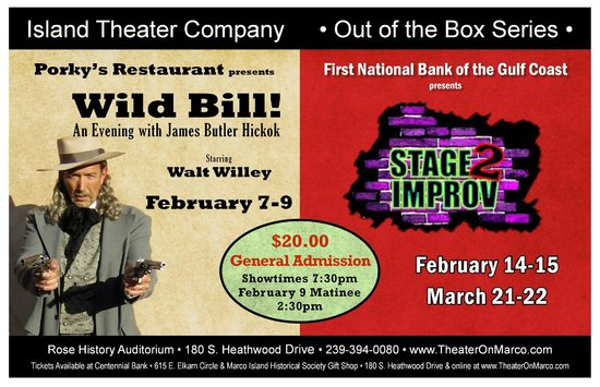 Island Theater Company: Coming Soon 2 Great Shows!