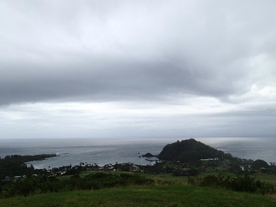 Fagan's Cross: View towards Hana Bay