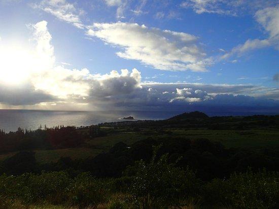 Fagan's Cross: View towards Hamoa Beach