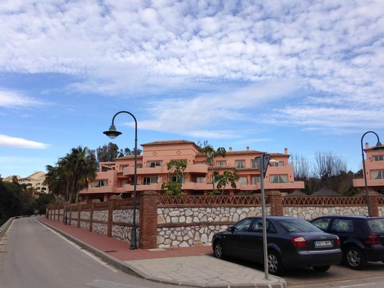 Heritage Resorts Club Playa Real: View of our block approaching from beach