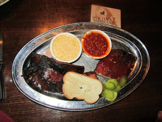 Jack Stack Barbecue: Jack's Best with cheesy corn and beans