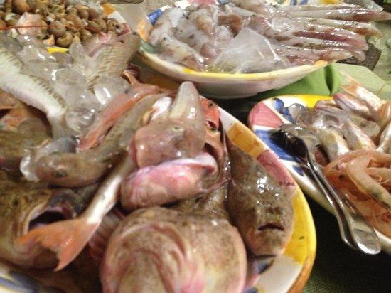 Osteria Ballaro: shellfish