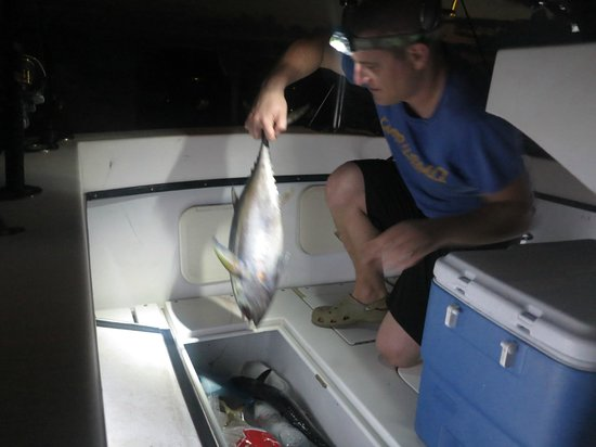 Madatet Fishing: By night