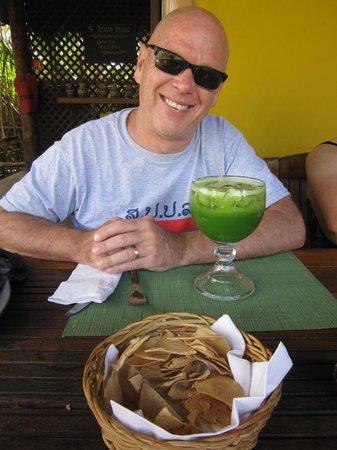 Cabanas La Luna: Great juices