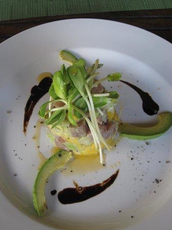 Cabañas La Luna: Special maguro salad