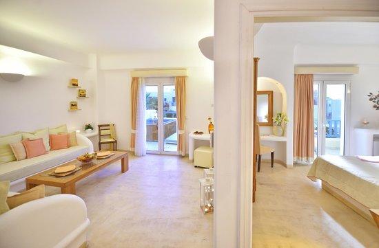 Tamarix del Mar: Superior suite with outdoor jacuzzi