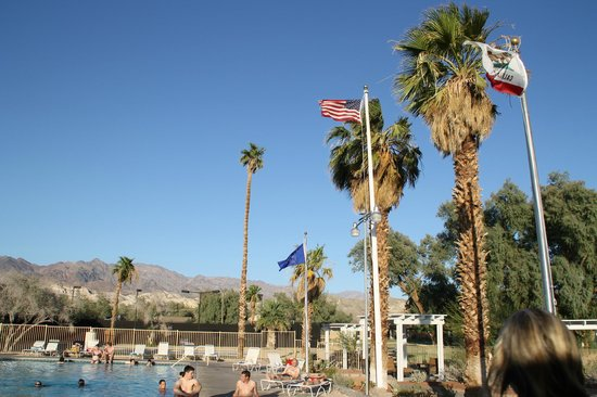 The Oasis at Death Valley: grande piscine