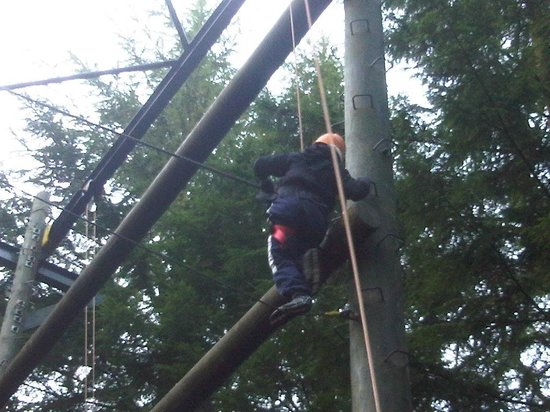Center Parcs Longleat Forest: im on top of cenerparcs mam