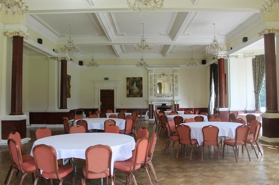 Best Western Beamish Hall Country House Hotel: Monboucher (weddin reception room - looks gorgeous when dressed for wedding)