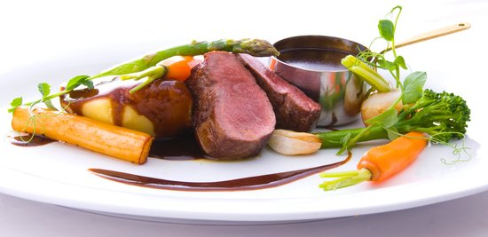 The Crown Country Inn: Venison saddle