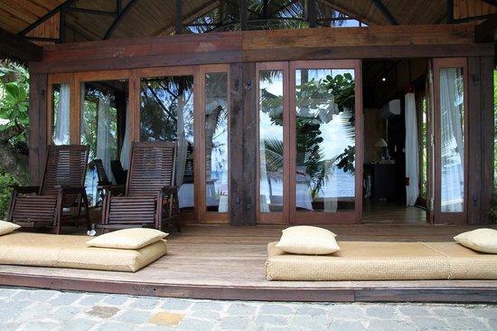 Princesse Bora Lodge & Spa: Bungalow Beach Excecutive