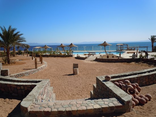 Canyon Estate Dahab Beach Hotel Residence : vista