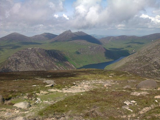 County Down, UK: View from Binnian