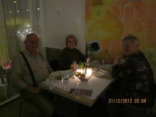 Dinner at Charles & De