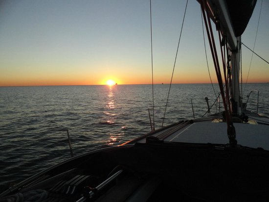 "West Coast Sailing Centre - Day Cruises: Sunset Sailing onboard Jeanneau 36i ""CASO"""