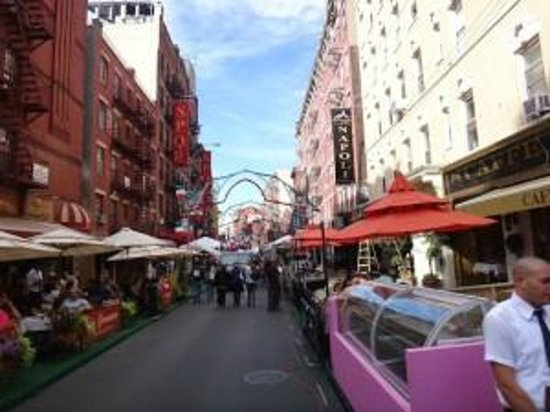 Little Italy : Mulberry Street