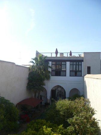 Riad Charai: Desde la terraza de la habitación.