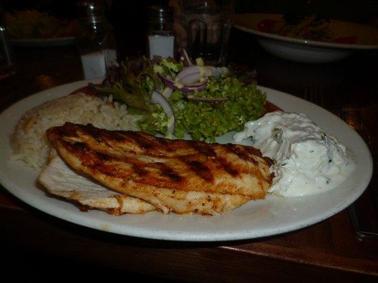 Grand Bazaar: chargrilled chicken
