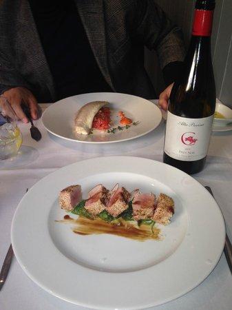 The Market Madrid : Grandes pescados con un gran Pinot Noir