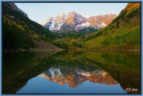 Sunrise At The Maroon Bells Picture Of Maroon Bells Aspen