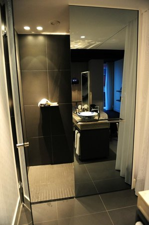 Andaz Amsterdam Prinsengracht: The amazing shower
