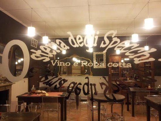 Pallanza, Itália: Osteria degli Specchi